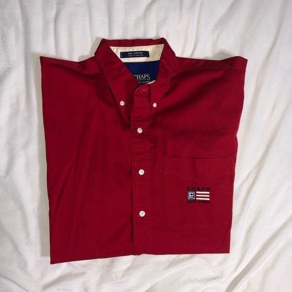 daba6bc014e271 Chaps Shirts | Vintage Ralph Lauren Button Up | Poshmark